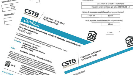 CSTB (Avis Technique) certificates FR