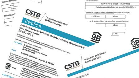 CSTB (Avis Technique) certificates FR